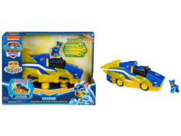 Spin Master PAW Patrol Chases Mighty Pups Charged Up Deluxe Verwandlungs Fahrzeug