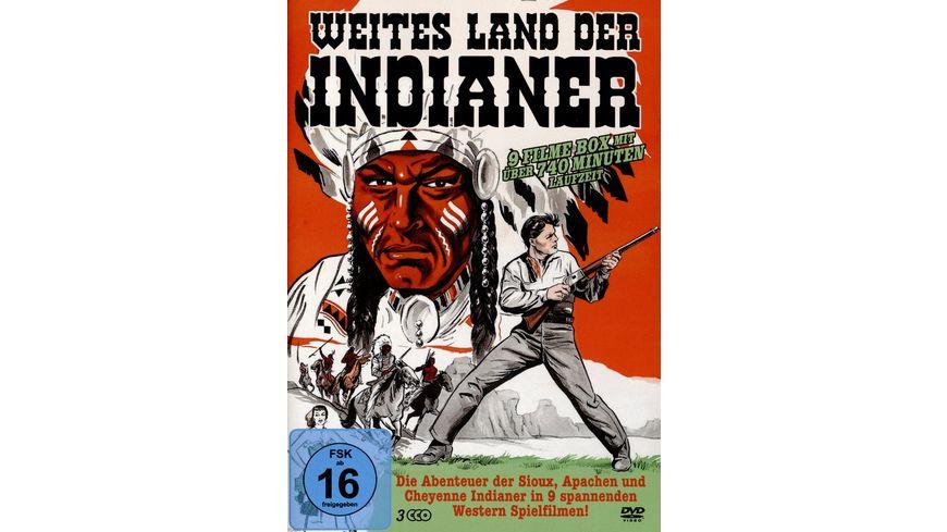 Weites Land der Indianer (9 Filme auf 3 DVDs)