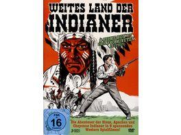 Weites Land der Indianer 9 Filme auf 3 DVDs