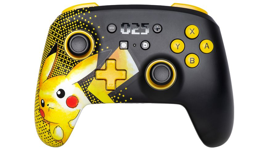 Nintendo Switch Pokémon Pikachu #025 wireless Controller