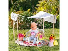Zapf Creation BABY born Deluxe Regenbogen Mantel 43cm