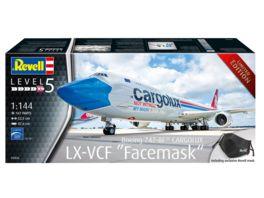 Revell 03836 Boeing 747 8F CARGOLUX LX VCF Facemask