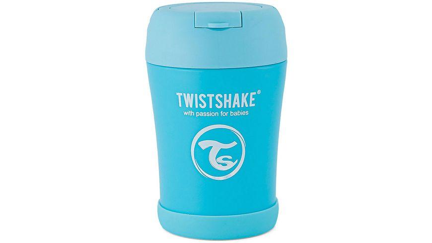 Twistshake Isolier Lebensmittel Container Pastell Blau 350ml