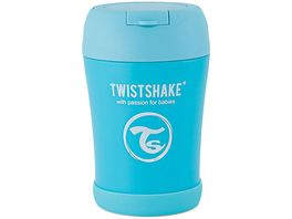 Twistshake Isolier Lebensmittel Container Pastell Blau 350ml