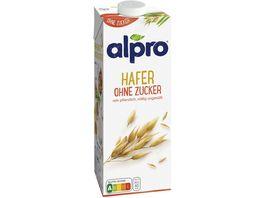 Alpro Drink Hafer ohne Zucker
