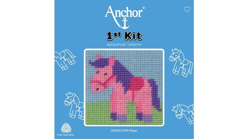 Anchor Stickset 1st Kit - Megan, das Pony