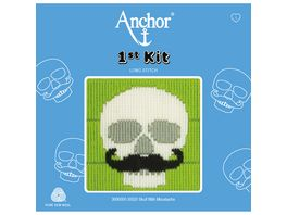 Anchor Stickset 1st Kit Totenschaedel mit Moustache