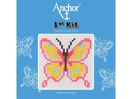Anchor Stickset 1st Kit Schmetterling