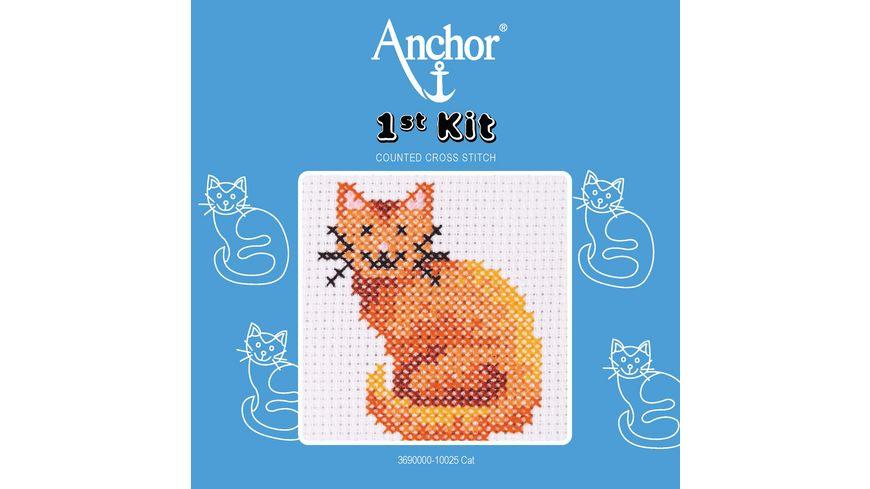 Anchor Stickset 1st Kit - Katze