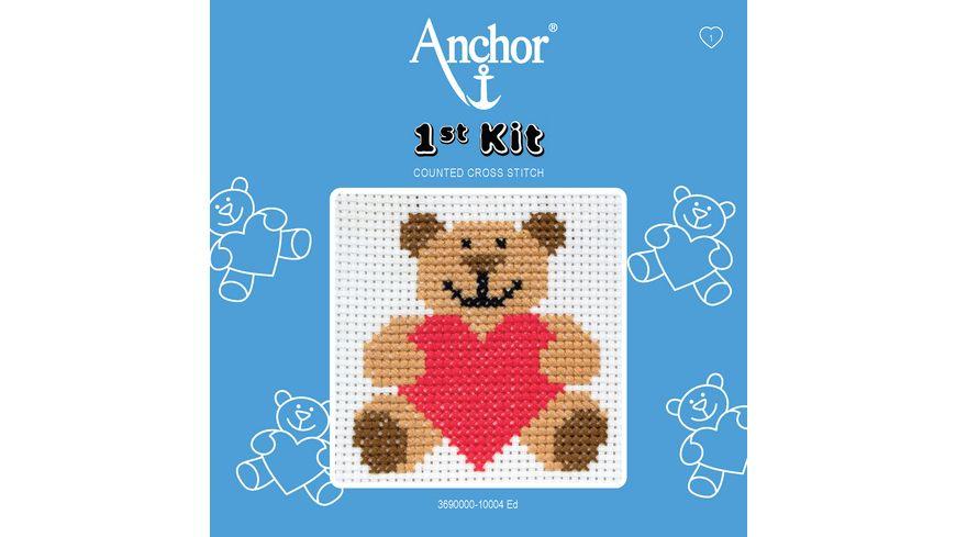 Anchor Stickset 1st Kit - Ed, der Bär