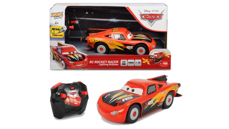 Dickie - RC Cars RC ROCKET RACER Lightning McQueen mit Turbo mode