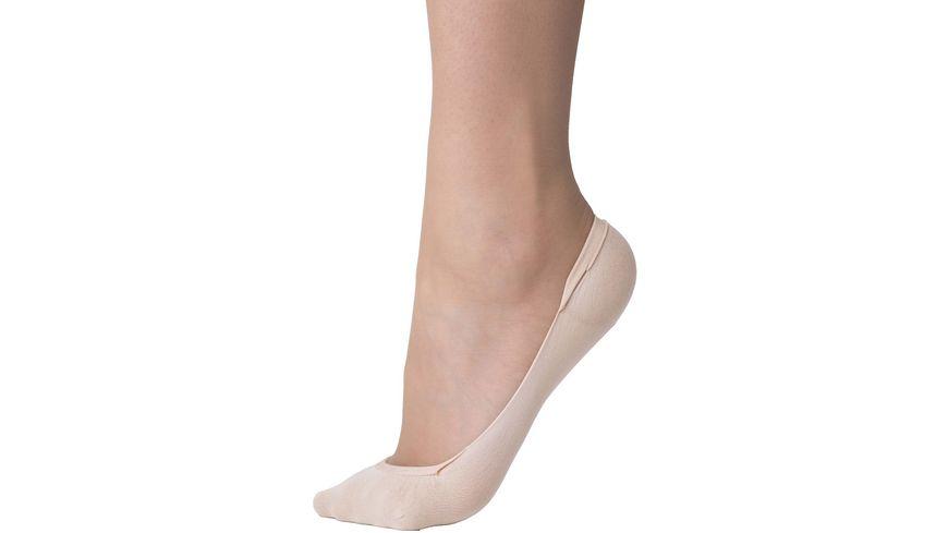 Steps Damen Füßlinge Ballerina Ecocare recycelt