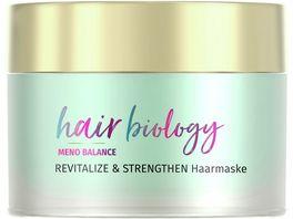 Hair Biology Meno Belance Haarmaske Revitalize Strengthen