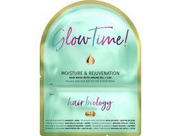 Hair Biology Moisture Rejuvenation Haarmaske Haube