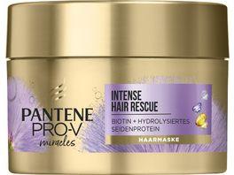PANTENE PRO V Miracles Intense Hair Rescue Haarmaske