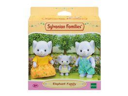Sylvanian Families Elefanten Familie