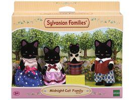 Sylvanian Families Schwarze Katzen Familie