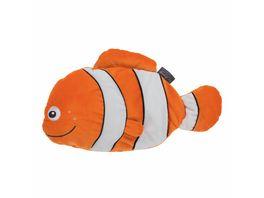 fashy Waermflasche mit Kuschelbezug Clownfisch Cleo 0 8l