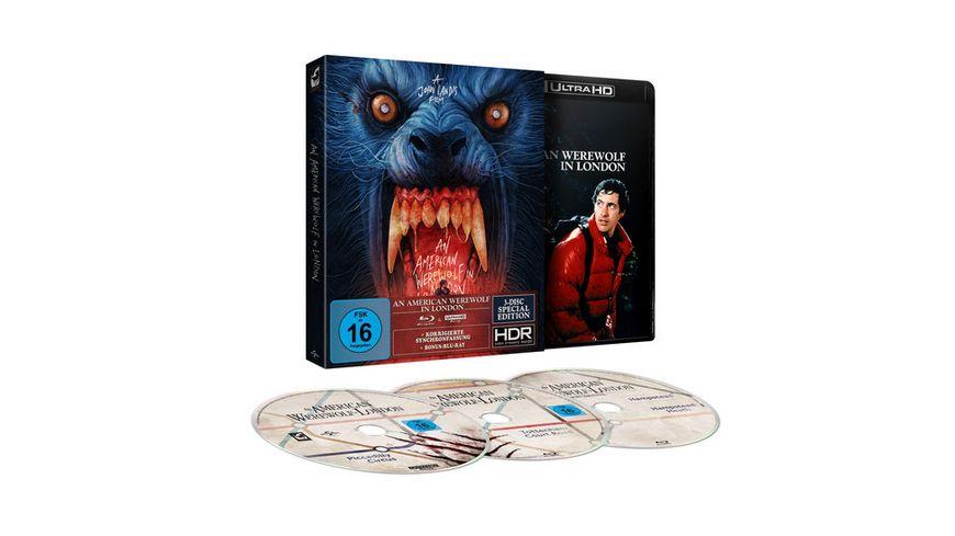 An American Werewolf in London - 3-Disc-Limited Special Edition (+ Blu-ray 2D + Bonus-Blu-ray)