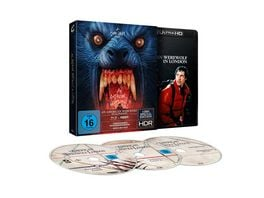 An American Werewolf in London 3 Disc Limited Special Edition Blu ray 2D Bonus Blu ray
