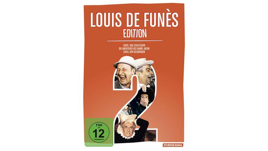 Louis de Funes Edition 2  [3 DVDs]