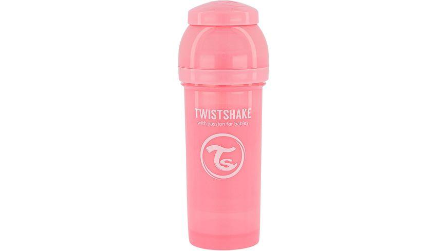 Twistshake Anti-Koliken Babyflasche Pastell Pink 260ml