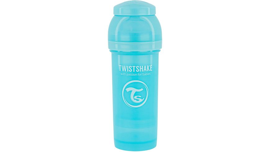 Twistshake Anti-Koliken Babyflasche Pastell Blau 260ml