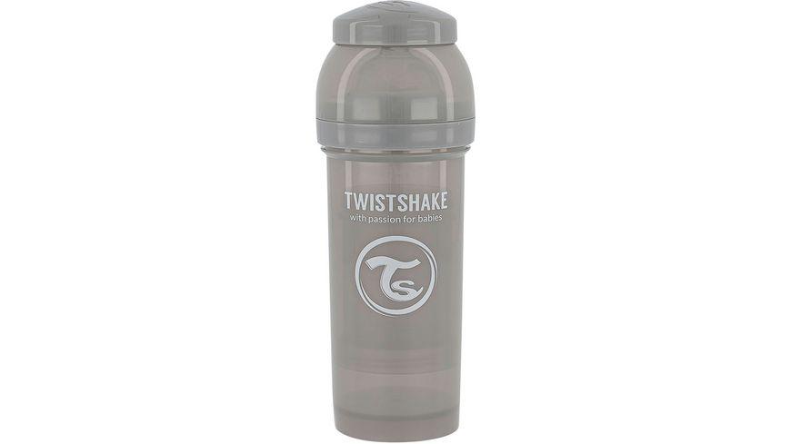 Twistshake Anti-Koliken Babyflasche Pastell Grau 260ml