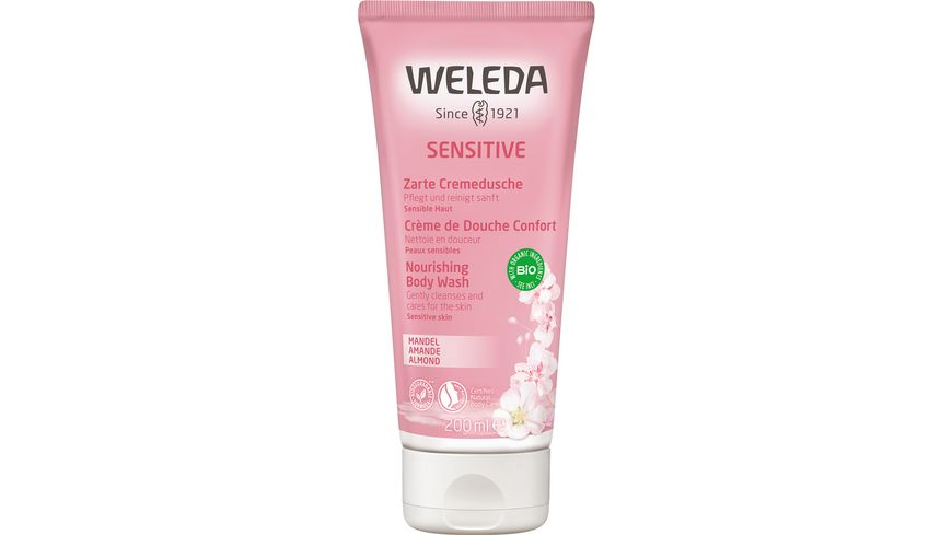 WELEDA Sensitive - Zarte Cremedusche Mandel