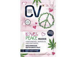 CV Love Peace Maske