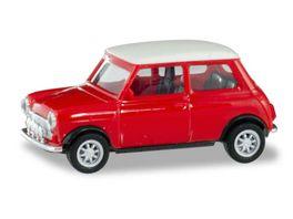 Herpa 420471 Mini Cooper mit Zusatzscheinwerfern 1 87