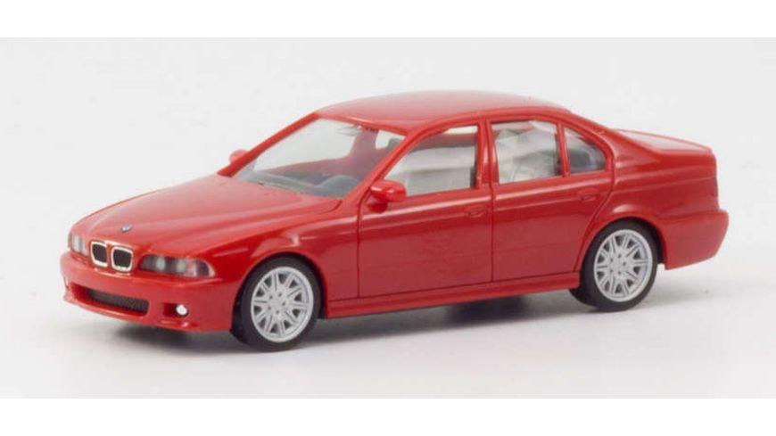 Herpa 022644-002 - BMW M5, rot 1:87