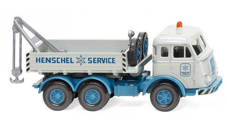 "WIKING 063408 -  1:87 Abschleppwagen (Henschel) ""Henschel Service"""