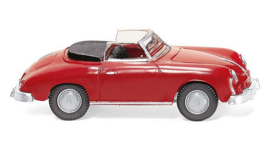 WIKING 016003 -  1:87 Porsche 356 Cabrio - signalrot