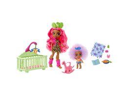 Cave Club Babysittingspass Babysitting Spielset mit 2 Puppen ab 4 Jahren