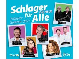 Schlager fuer Alle Die Neue Fruehjahr Sommer 2021