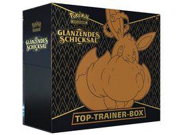 Pokemon Sammelkartenspiel Schwert Schild Glaenzendes Schicksal Top Trainer Box DE
