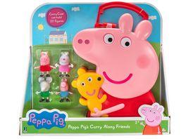 PEPPA Peppa Sammelkoffer mit 4 Freunden