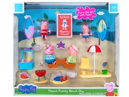 PEPPA Strandtag mit Familie Wutz Deluxe Spielset