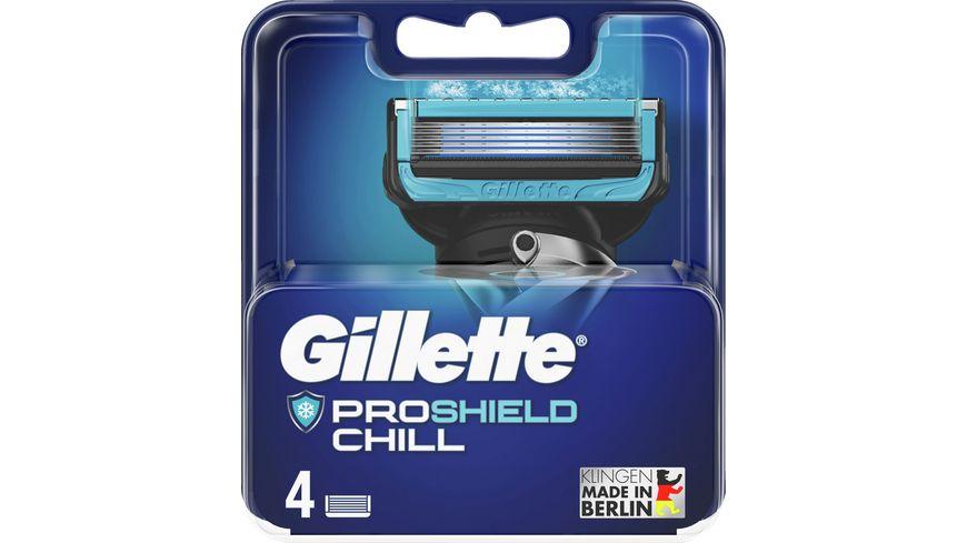 Gillette Klingen ProShield Chill System 4er