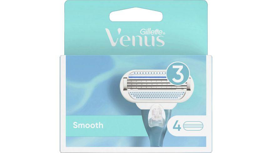Venus Klingen Gillette Smooth System 4er