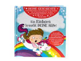 H H Maerchenbuch Einhorn blanko