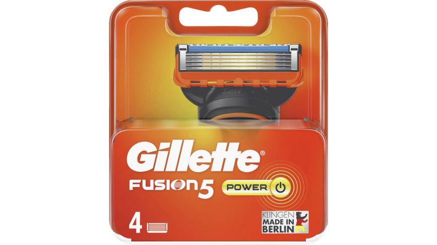 Gillette Klingen Fusion5 Power System 4er