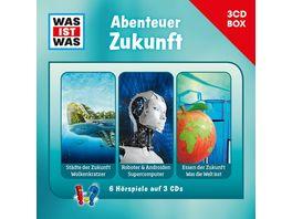 Was Ist Was 3 CD Hoerspielbox Vol 11 Zukunft