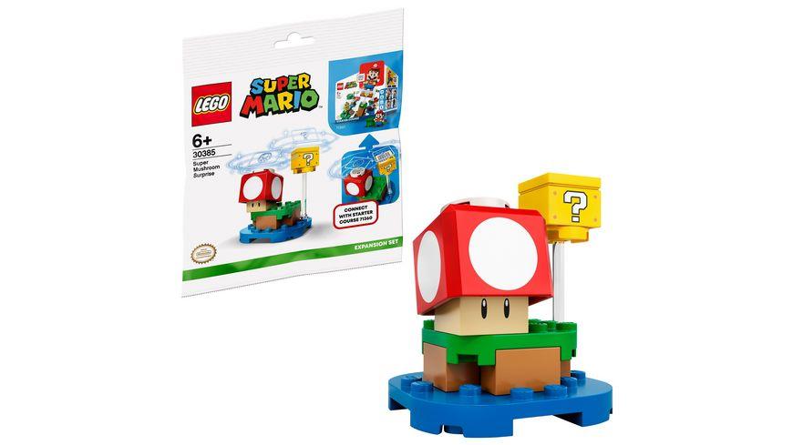 LEGO Super Mario - 30385 Superpilz Überraschung – Erweiterungsset