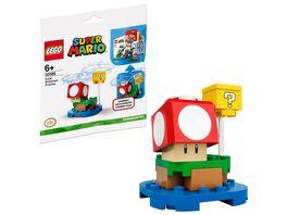 LEGO Super Mario 30385 Superpilz Ueberraschung Erweiterungsset