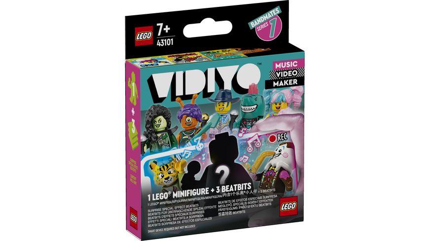 LEGO VIDIYO 43101 Bandmates Minifiguren Serie 1 Musikspielzeug