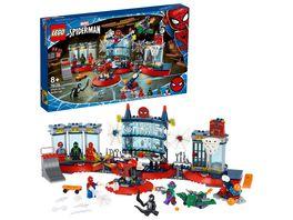 LEGO Super Heroes 76175 Angriff auf Spider Mans Versteck Bauset