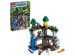 LEGO Minecraft 21169 Das erste Abenteuer Bauset