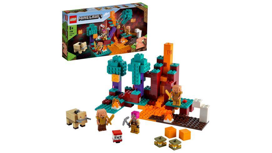 LEGO Minecraft 21168 Der Wirrwald, Bauset